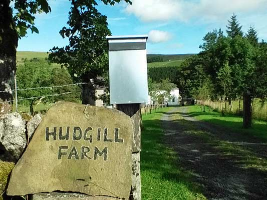 Gateway to Hudgill Farm